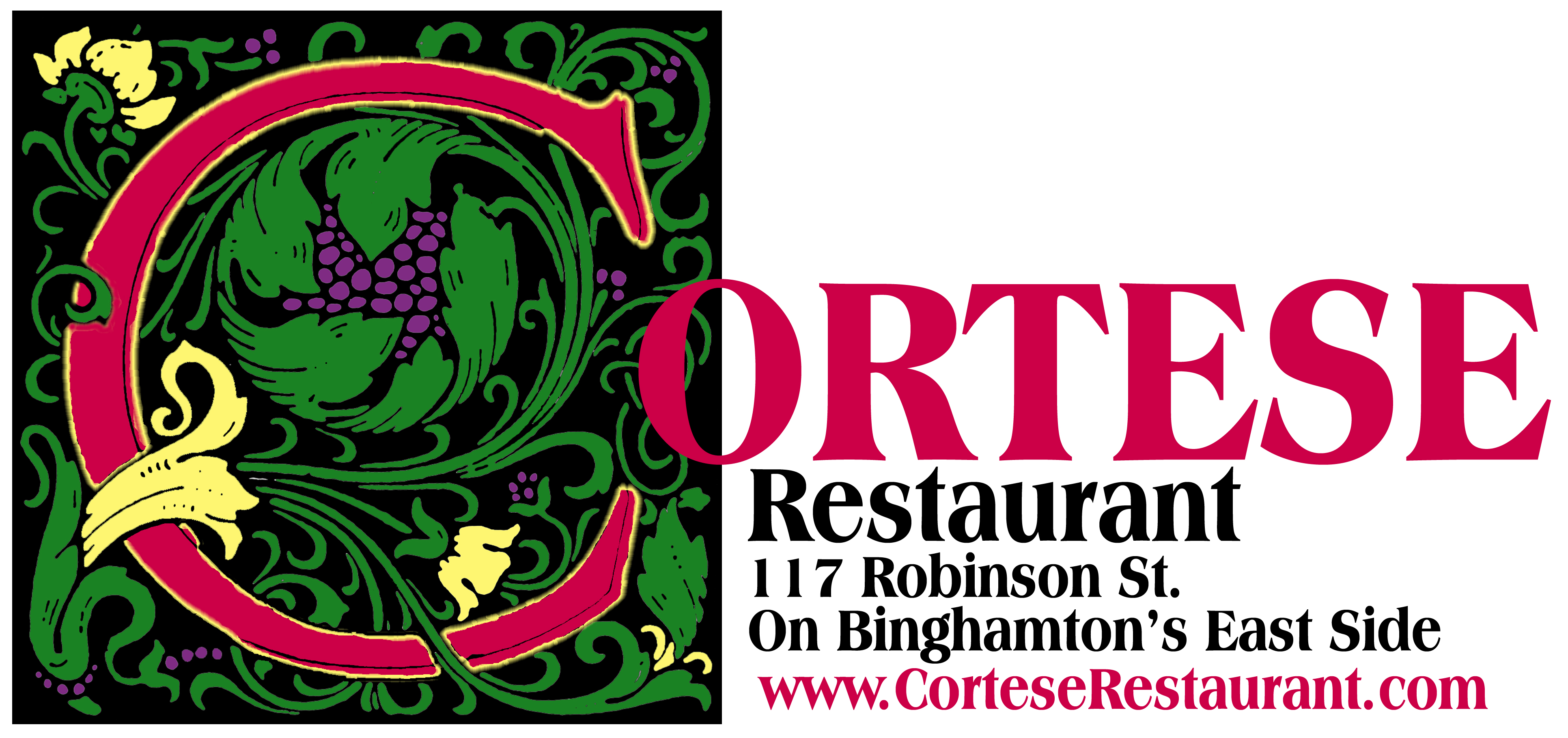 Logo-Color-Name-WebApr2008 Binghamton Restaurants